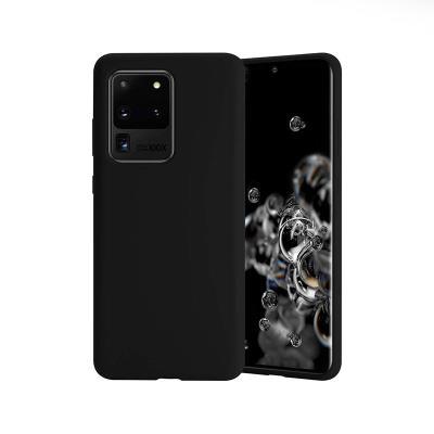 Funda Silicona Premium Samsung Galaxy S20 Ultra G988 Negra