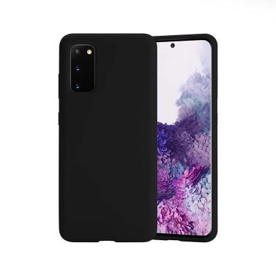 Capa Silicone Premium Samsung Galaxy S20 G980 Preta
