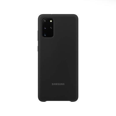 Silicone Cover Original Samsung Galaxy S20 Plus Black (EF-PG985TBE)