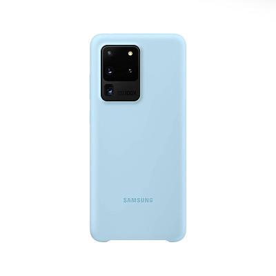 Silicone Cover Original Samsung Galaxy S20 Ultra Blue (EF-PG988TLE)