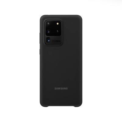 Capa Silicone Original Samsung Galaxy S20 Ultra Preta (EF-PG988TBE)