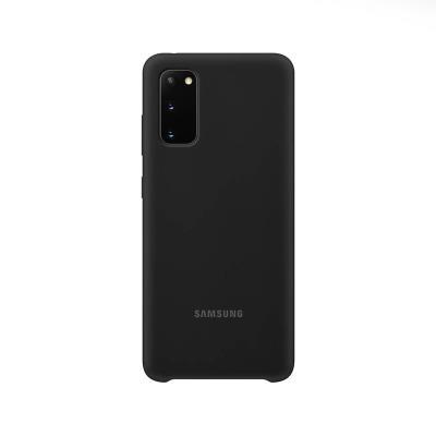 Silicone Cover Original Samsung Galaxy S20 Black (EF-PG980TBE)