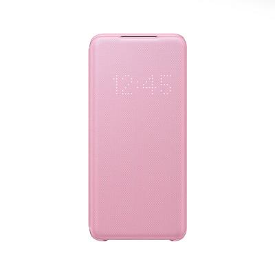 Capa LED View Original Samsung Galaxy S20  Rosa (EF-NG980PPE)