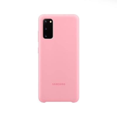 Capa Silicone Original Samsung Galaxy S20  Rosa (EF-PG980TPE)