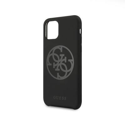 Capa Silicone Guess iPhone 11 Tone Zadní Preta