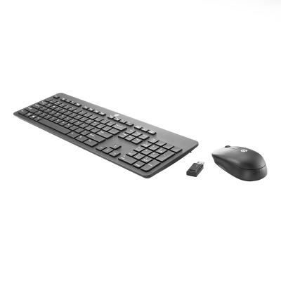 Wireless Keyboard + Mouse HP T6L04AA PT Black