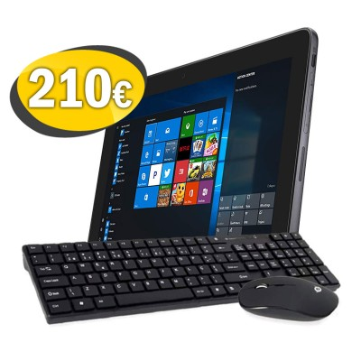 Refurbished Windows Tablet Pack + Mouse and Keyboard