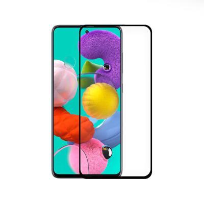 Película de Vidro Temperado Samsung Galaxy A51 A515 Fullscreen Preta
