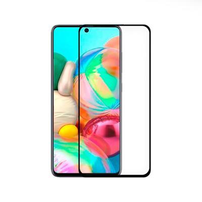 Tempered Glass Film Samsung Galaxy A71 A715 Fullscreen Black