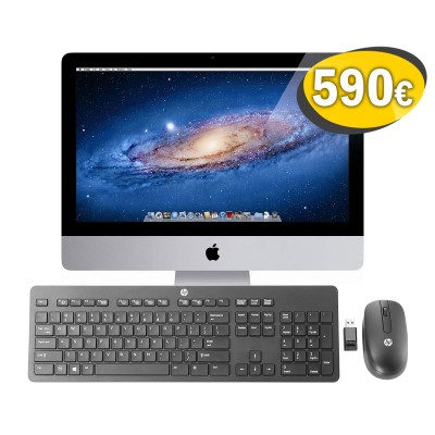 "iMac 21.5"" A1311 Pack + HP Wireless Keyboard and Mouse T6L04AA"