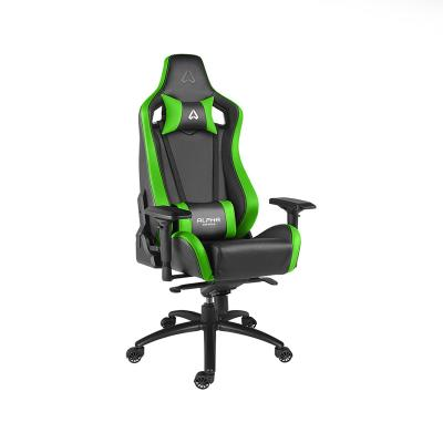 Cadeira Gaming Alpha Gamer Polaris Racing Preta/Verde (AGPOLARISRE-BK-GRN)