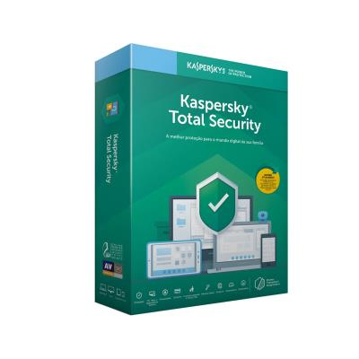 Antivírus Kaspersky Total Security 2019 5 Users 1 Ano