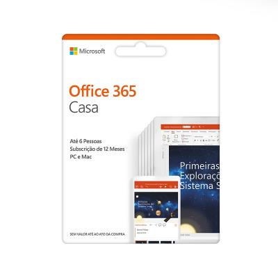 Microsoft Office 365 Digital Home Edition 2019