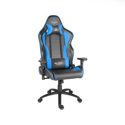 Cadeira Gaming Alpha Gamer Pollux Preta/Azul (AGPOLLUX-BK-BL)