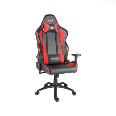 Cadeira Gaming Alpha Gamer Pollux Preta/Vermelha (AGPOLLUX-BK-R)