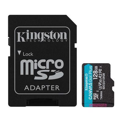 Memory Card Kingston 128GB MicroSD Canvas Select Go Plus