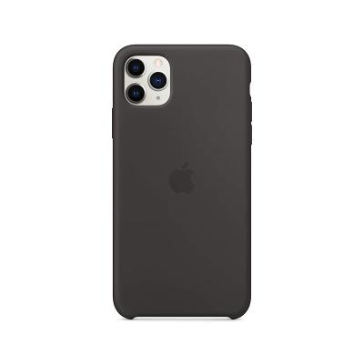 Silicone Cover Original Apple iPhone 11 Pro Max Black (MX002ZM/A)