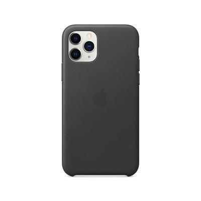Leather Cover Original Apple iPhone 11 Pro Black (MWYE2ZM/A)