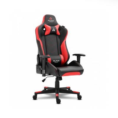 Cadeira Gaming Alpha Gamer Zeta Preta/Vermelha (AGZETA-BK-R)