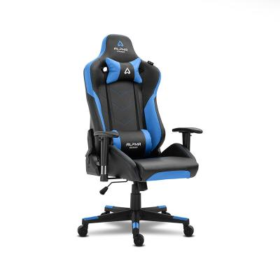 Cadeira Gaming Alpha Gamer Zeta Preta/Azul (AGZETA-BK-BL)