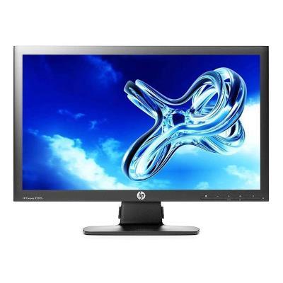 """Monitor HP 22"""" FHD Preto (LE2202X) Recondicionado"""