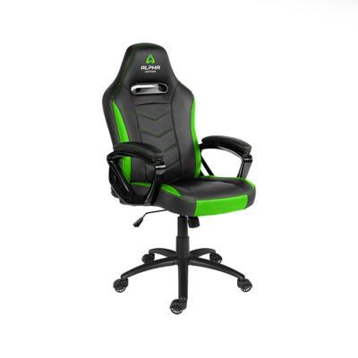 Cadeira Gaming Alpha Gamer Kappa Preta/Verde (AGKAPPA-BK-GRN)