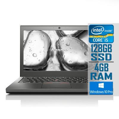 "Portátil Lenovo ThinkPad X240 12"" i5-4300U SSD 128GB/4GB Recondicionado"