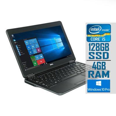 """Portátil Dell Latitude E7240 Touch 12"""" i5-4310U SSD 128GB/4GB Recondicionado"""