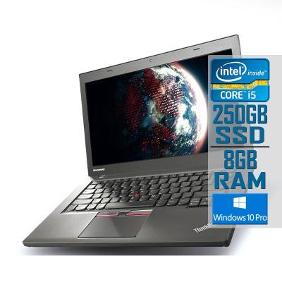 "Portátil Lenovo ThinkPad T450 14"" i5-5300U SSD 250GB/8GB Recondicionado"