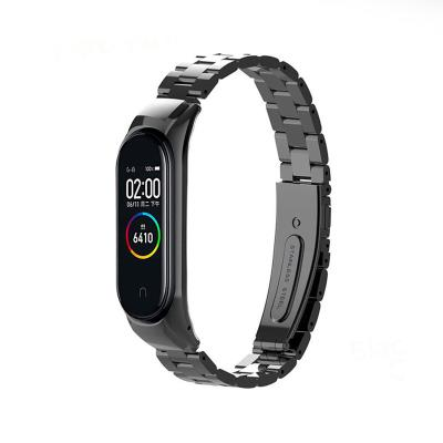 Steel Bracelet Xiaomi Mi Band 3/4 Black
