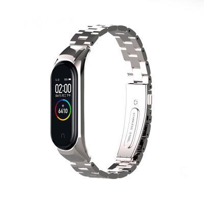 Steel Bracelet Xiaomi Mi Band 3/4 Silver