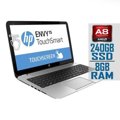 Laptop HP Envy TouchSmart 15-J009WM A8-5550M SSD 240GB/8GB Refurbished