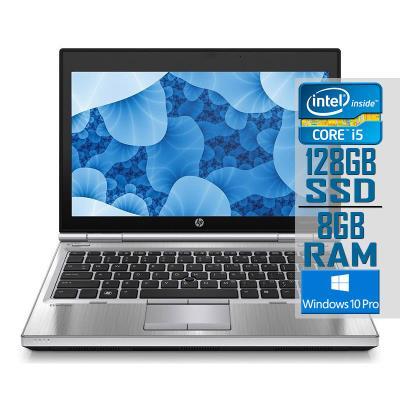 "Portátil HP EliteBook 2570p 12"" i5-3320M SSD 128GB/8GB Recondicionado"