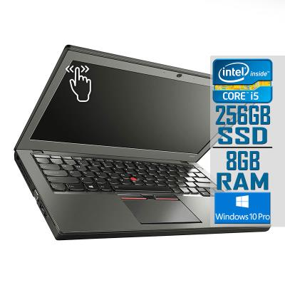 "Laptop Lenovo ThinkPad X250 Touch 12"" i5-5300U SSD 256GB/8GB Refurbished"