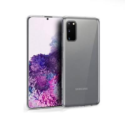 Capa Silicone Samsung Galaxy S20 G980 Transparente