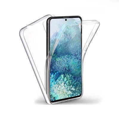 Capa Silicone Frente e Verso Samsung Galaxy S20 Plus G985 Transparente
