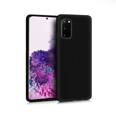 Funda Silicona Samsung Galaxy S20 G980 Negra