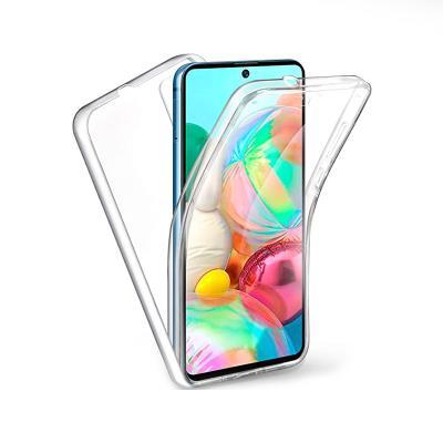 Capa Silicone Frente e Verso Samsung Galaxy A71 A715 Transparente