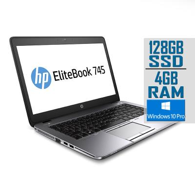 "Laptop HP EliteBook 745 G2 14"" A8-7150B SSD 128GB/4GB Refurbished"