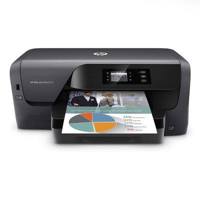 Impressora HP OfficeJet Pro 8210 Wi-Fi/Duplex Preta (D9L63A)