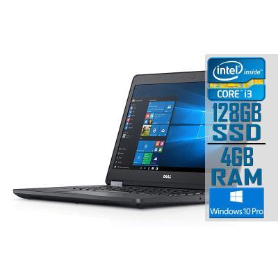 "Laptop Dell Latitude E5470 14"" i3-6100U SSD 128GB/4GB Refurbished"