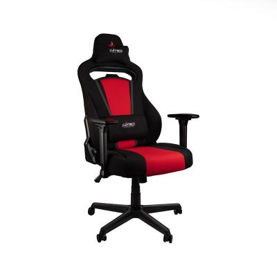 Cadeira Gaming Nitro Concepts E250 Gaming Preta/Vermelha (NC-BR)