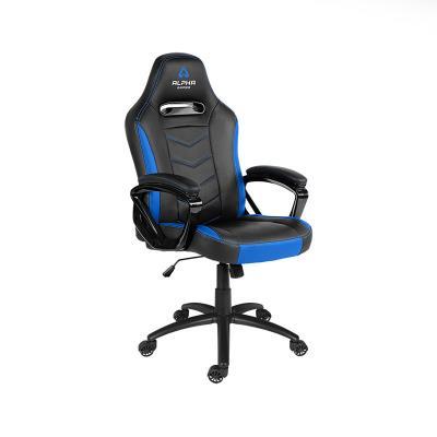 Cadeira Gaming Alpha Gamer Kappa Preta/Azul (AGKAPPA-BK-BL)