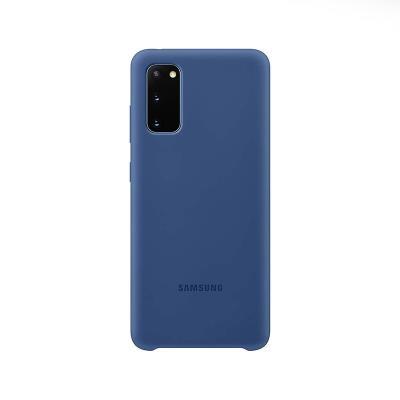 Capa Silicone Original Samsung Galaxy S20 Azul Escuro (EF-PG980TNE)