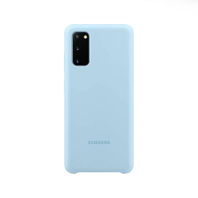 Silicone Cover Original Samsung Galaxy S20 Blue (EF-PG980TLE)