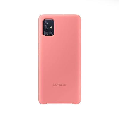 Capa Silicone Original Samsung Galaxy A51 Rosa (EF-PA515TPE)