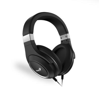 Auscultadores Genius HS-610 c/Microfone Preto