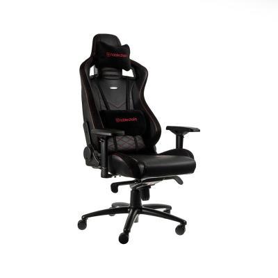 Cadeira Gaming Noblechairs EPIC PU Leather Preta/Vermelha (NBL-PU-RED-002)