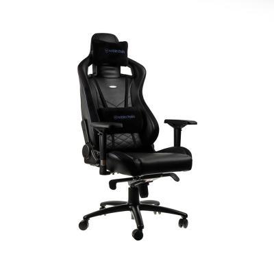 Cadeira Gaming Noblechairs EPIC PU Leather Preta/Azul (NBL-PU-BLU-002)
