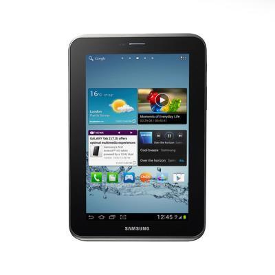 """Samsung Galaxy Tab 2 7"""" 16GB/1GB Preto (P3100) Recondicionado"""